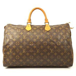 Auth Louis Vuitton Speedy 40 Hand Bag #5970L25